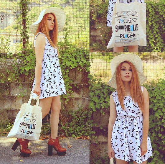 Maria Rondinella - Choies Dress, Stylight Bag, Asos Shoes - - ANCHOR -