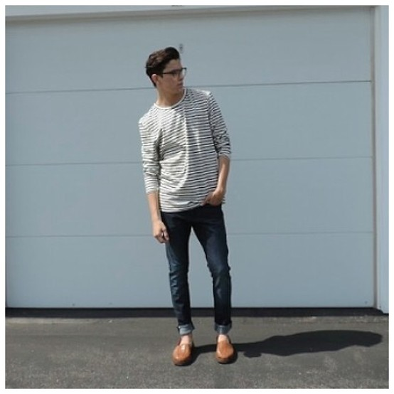 Brandon Beltran - H&M Shirt, H&M Jeans, Sunsteps Sandals - Perfectly Casual