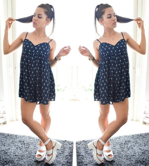 Isabella M. - Pull & Bear Playsuit, Windsor Smith Shoes, Asos Watch - Your Touch