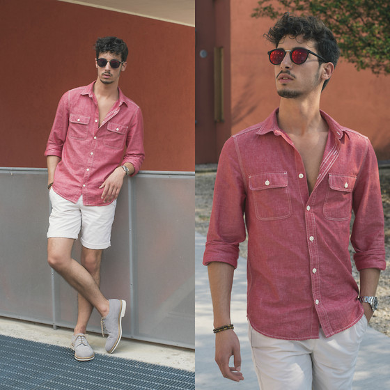 Alberto Mason - H&M Shirt, Zerouv Sunglasses, Adidas Shorts, Docksteps Shoes - Restart