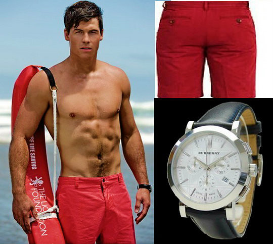 "1Ben 1 - Burberry Watch, Levi's® Jean Short, Slsc Tube - ""How to Save A Life"""