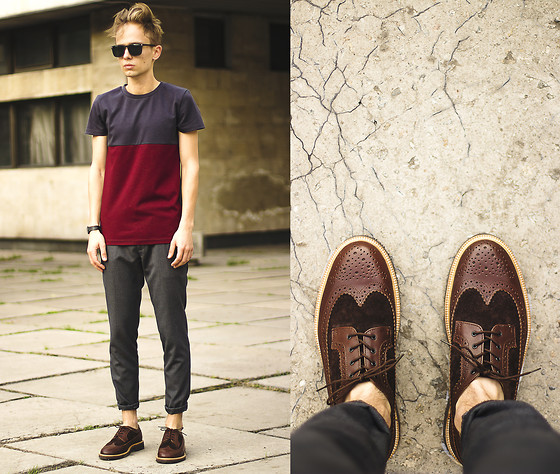 Daniil Shamatrin - Follow My Eyes Top, Follow My Eyes Trousers, Follow My Eyes Brogues - Taro
