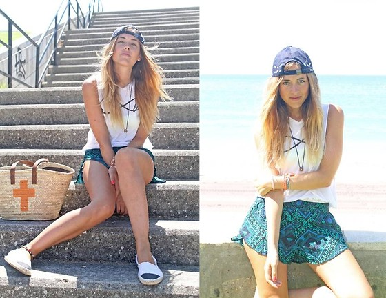Amy Ramírez - Forever 21 Shorts, Brandy & Melville Top, Marypaz Espadrilles - My Way