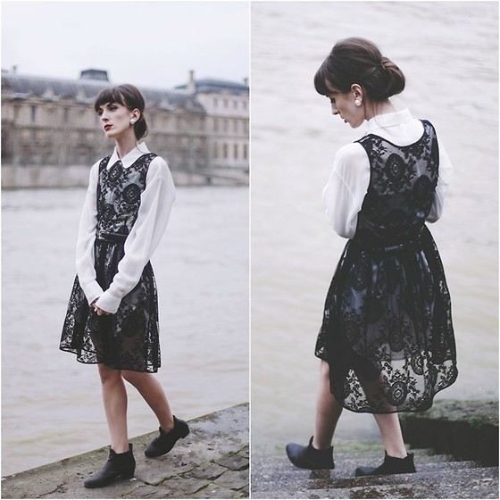 Kiana Mc - American Apparel Dress - La Seine
