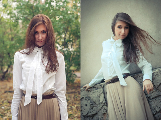 Anna Sever - Bershka Skirt - Autumn colors