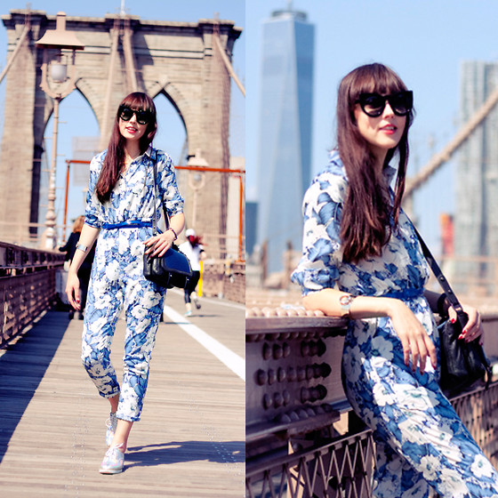 Iris Www.adashoffash.com - Missguided Jumpsuit, Chic Wish Brogues, Frontrowshop Arm Cuff, On My Blog Rest Of The Details - BROOKLYN BRIDGE