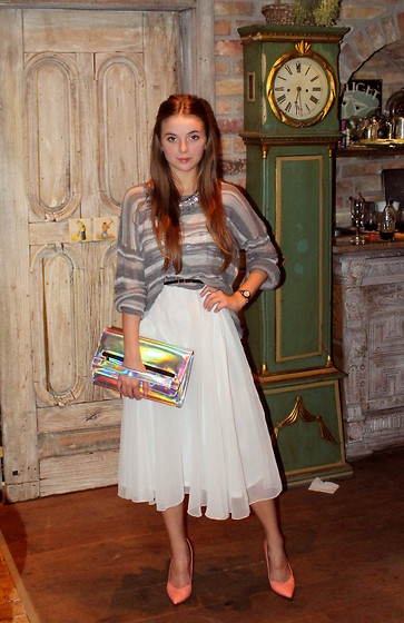 Joanna Vi - Diy Midi Skirt, Primark Bag - Frozen Marilyn M.