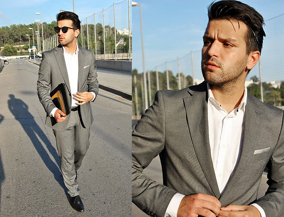 Marc Galobardes - Zara Suite, Zara Shirt, Zara Shoes - WEDDING SUITE #ZARA
