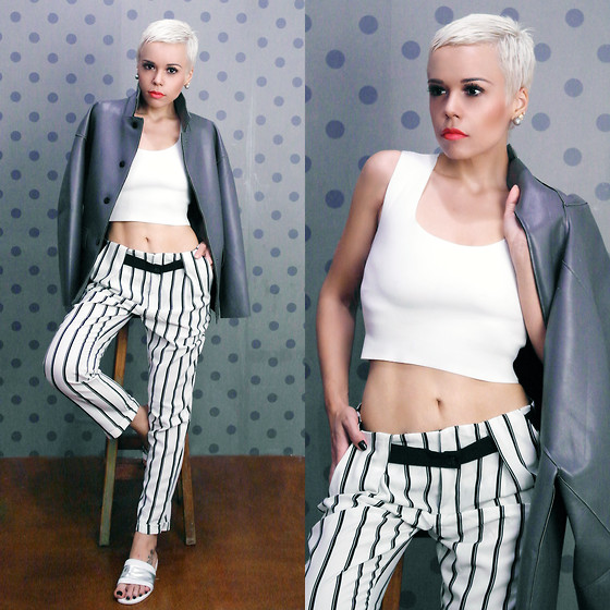 Priscila Diniz - What Im Wearing On Comments - New white hair!
