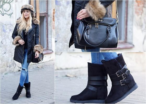 Estelle Fashion Sinsay Pants, Topubrania Coat, Madamrock
