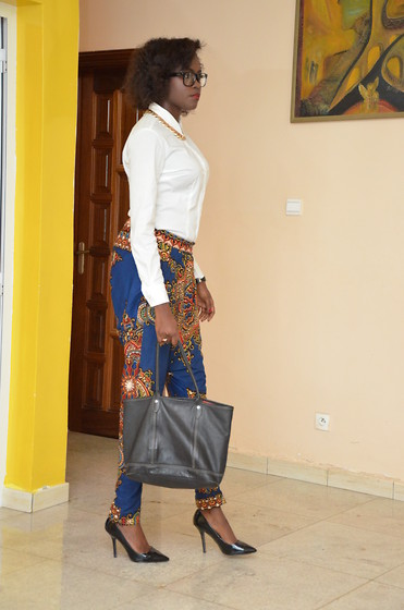 Senegalese Blogger - Zara Court Shoes - African Nerdy Look