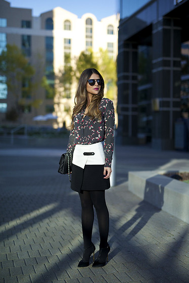 Pam Hetlinger - Alice And Olivia Skirt - Holiday Look