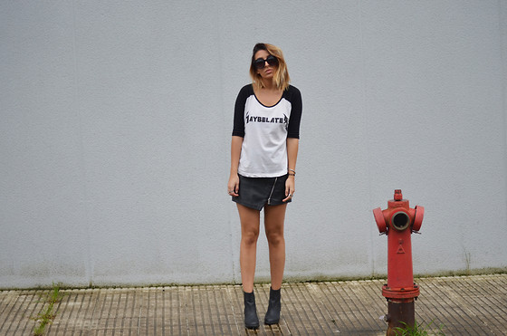 L A - High Heels Suicide Maybelater Raglan - MAYBE LATER