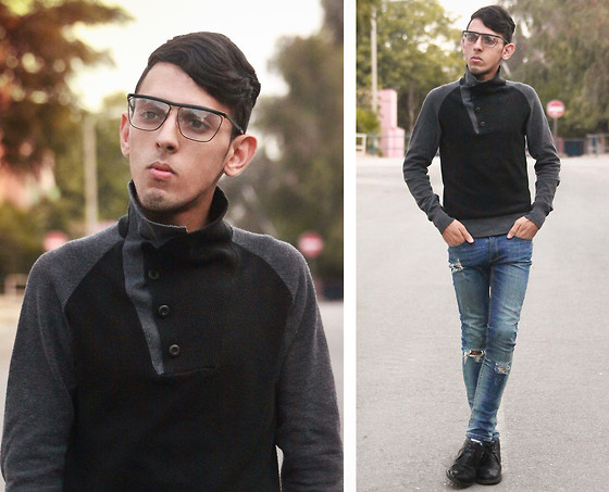 Ahmed Imoudrog - Giantvintage Glasses - OOTD