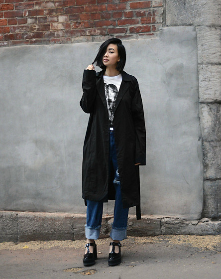 Alyssa Lau - New Classics Studios Trench Coat - Breathe Again