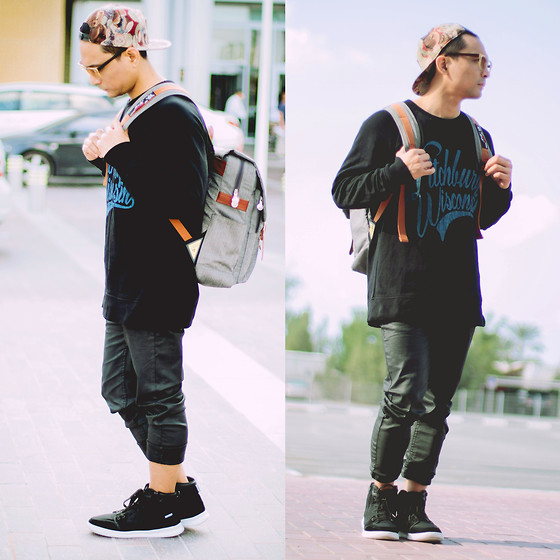 Geno Arguelles - Max Fashions Sweatshirt, Puca Shoes - Teddy Wear