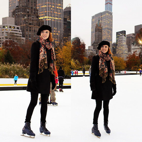 Sonja Vogel -  - Ice Skating in Central Park