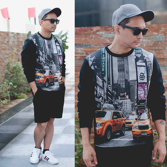 Geno Arguelles - Splash Fashion Cap, Max Fashions Sweater, Splash Fashion Shorts, Adidas Shoes - Time Squared