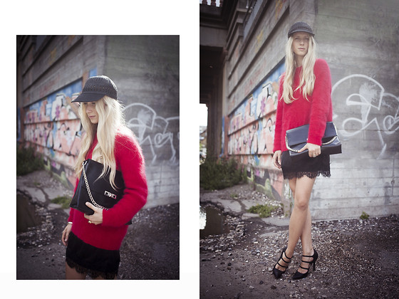 Laura Tonder - Deichmann Shoes, Glitter Bag, Bik Bok Sweater - Summer haze