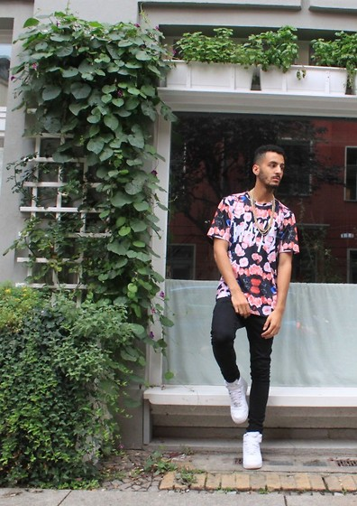 Angelo Wasted Paris Bloomed Shirt, Asos Black Spray On