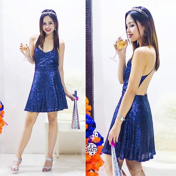 Nicole Aguinaldo - Tobi Dress - Here's To A Dazzling New Year