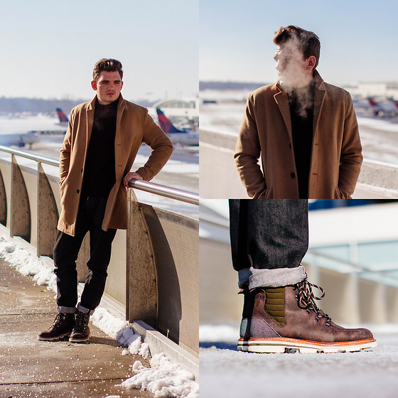 Florian Roser - Topman Coat, Cos Sweater, Dsquared2 Jeans, Y 3 Boots - Breathe in, Breathe out