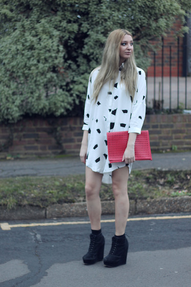 Laura Rogan - Atterley Road Dress, Topshop Bag, Kurt Geiger Boots - Artpop