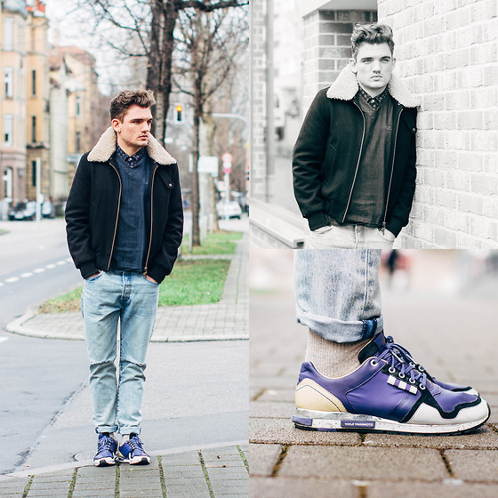 Florian Roser - Ami Jacket, Cos Sweater, Levi's® Jeans, Y 3 Sneakers - Casual Friday