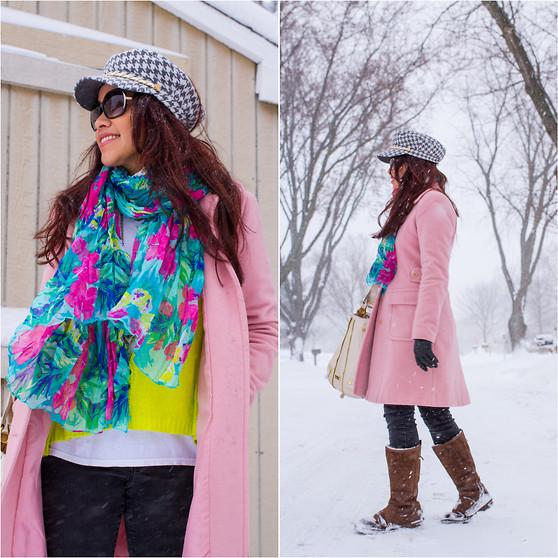 Victoria's Secret Pink Coat, Ugg Snow