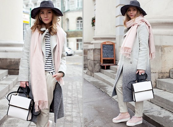Victoria Platina - Lovely Bird Hat, Asos Coat, Ted Baker Bag, Superga Sneakers - Spring in my soul