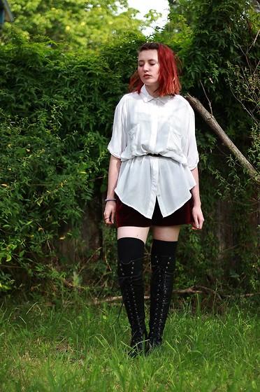 Sarah W. - Go Jane Otk Boots, Asos Otk