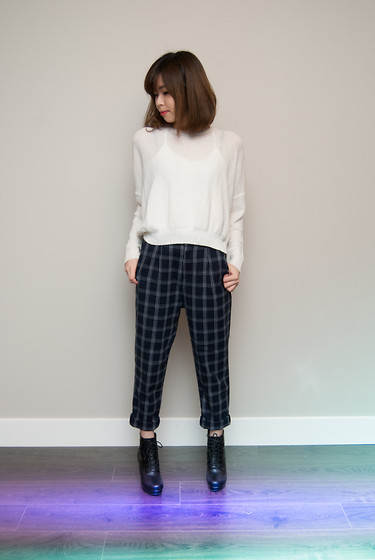 Kristine -  - Plaid Pants