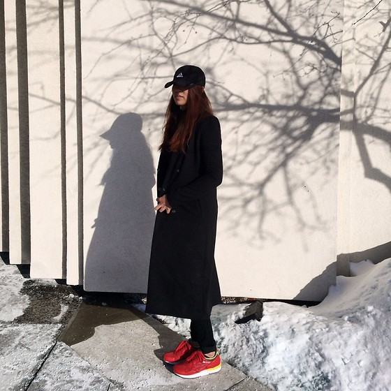 Yannie Tagayuna - Adidas Snapback, H&M Coat, Asics Shoes - It's Cold Outside