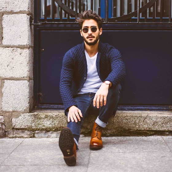 Raphaël Spezzotto-Simacourbe - Loft Design By Jacket, Meermin Shoes, Sandro Jean, Asos T Shirt, Daniel Wellington Watch - That day when everything changed