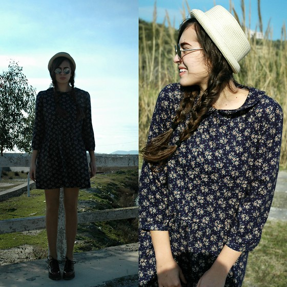 Fransi - Asos Hat, Asos Sunglasses, Zara Shoes, H&M Dress - Country girl