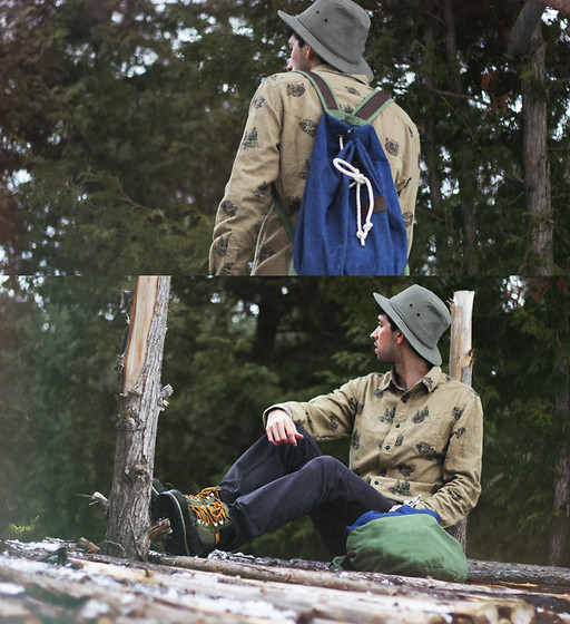 Bobby Raffin - Bank Fashion Caterpillar Boots - Ready for Adventure