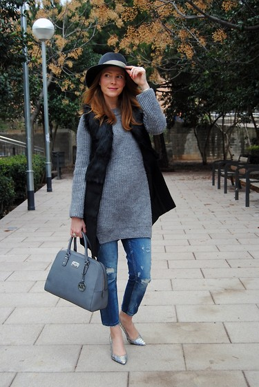 Colourvibes Blog -  - Grey hues with my Raceu Hat