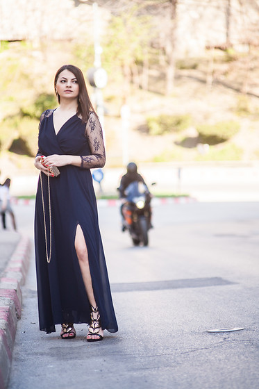 Kristina P. - Znu Dress - I don't always wear long dresses, BUT when I do ....