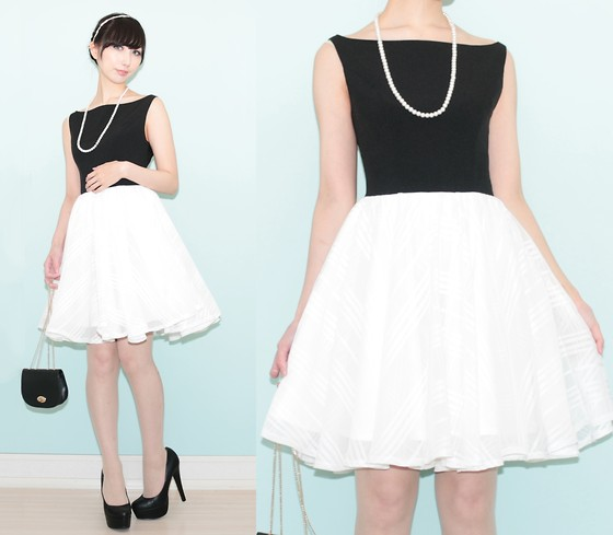 Otto Lillian -  - Monochrome dress