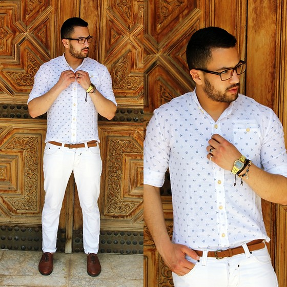 Nabil Asserghine - Shirt, Watch, Bracelet - #Dapper