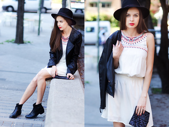 Mariya Marinova - Pull & Bear Dress - Boho vibes.