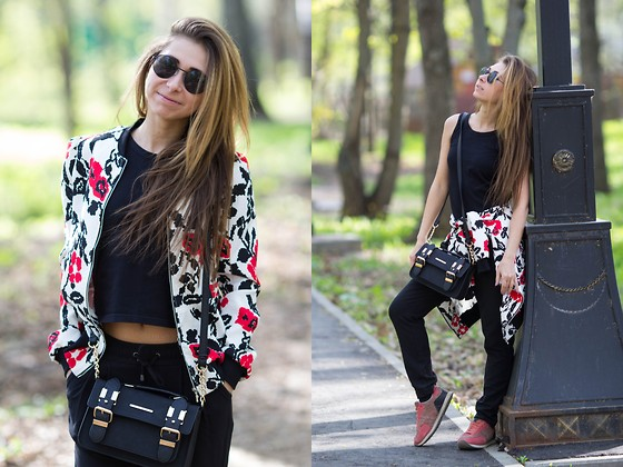 Anna Sever - Asos Jacket, River Island Bag - 3 colours