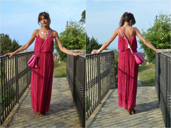 Jeanne Mango Dress, Michael Kors Bag, Zara Booties