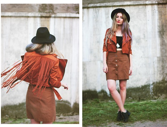 ♡Anita Kurkach♡ - Walktrendy Jacket, Asos Skirt, Asos Hat, Asos Crop Top - WALK THIS WAY.