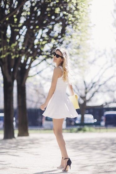Meryl Denis - H&M Dress, Zara Shoes, Primark Bag - White spring