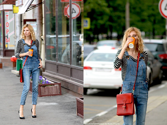 Lise Kapris - Christian Louboutin Heels, Choies Overall - Louboutins in the City