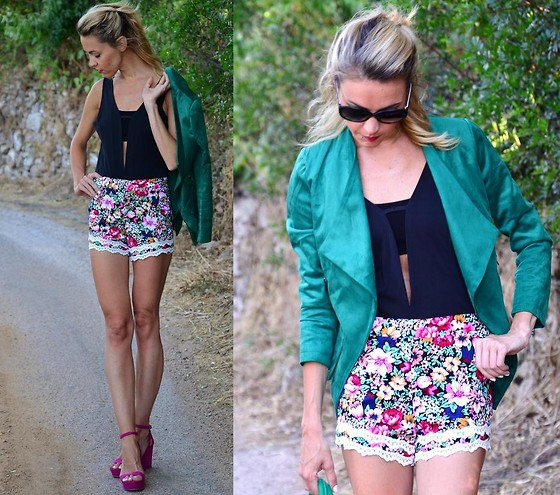 ASIA (IN &OUT BLOG) - Choies Blazer, Bershka Shoes - Kolorowe lato..