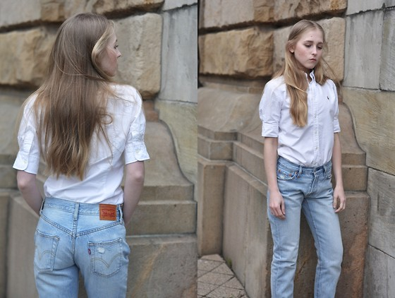 Dominica Justyna - Levi's® Jeans, Ralph Lauren Shirt - Movesfashion.com