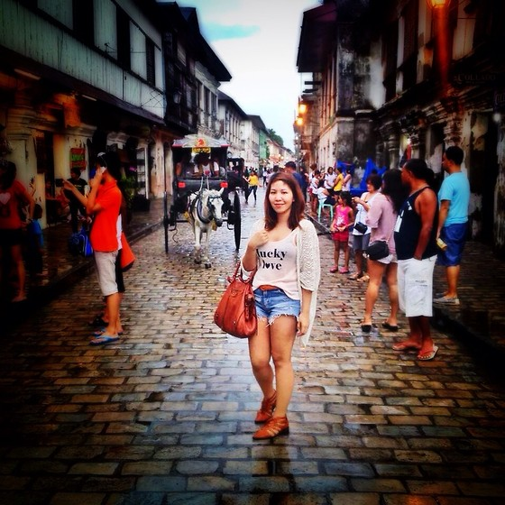 PAPU DOMINGO -  - VIGAN, Calle Crisologo (7 new wonders of the world)