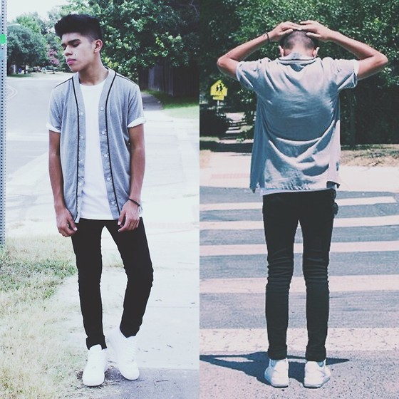 Kevin Canela American Rag Jersey, H&M Jeans, Forever 21